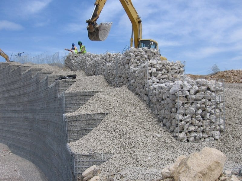 Image of Gabion Basket Walls